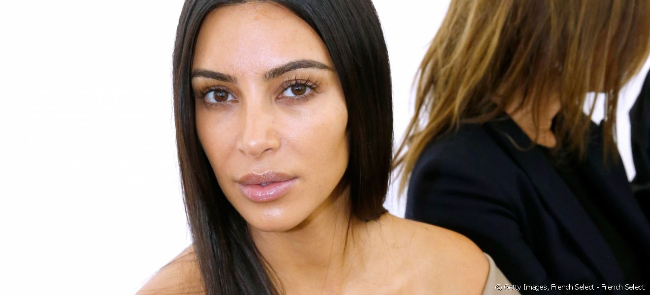 Kim Kardashian no make-up
