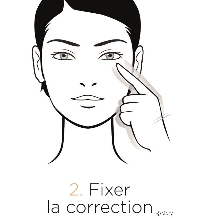 Fixer stick correcteur
