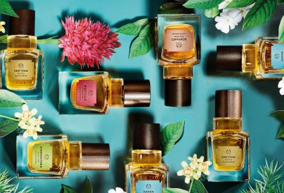 The Body Shop lance 5 fragrances inspirées de la nature