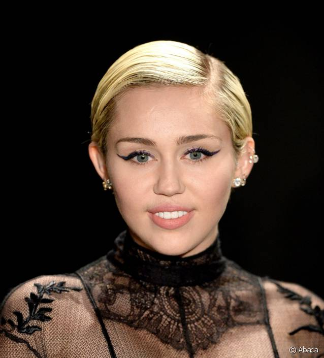 cheveux court Miley Cyrus
