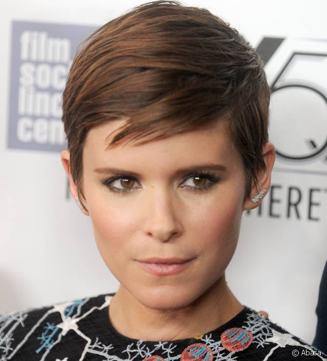 cheveux courts Kate Mara