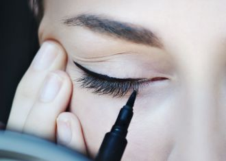 Le bubble eye-liner, le nouveau trait de liner fantaisiste