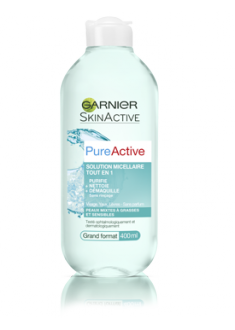 Pure Active - Solution Micellaire Tout en 1 de Garnier