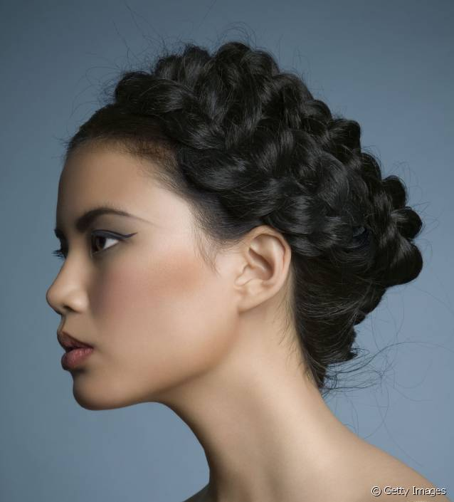 tresse coupe cheveux mariage